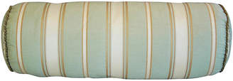 One Kings Lane Vintage Scalamandré Striped Silk Bolster Pillow