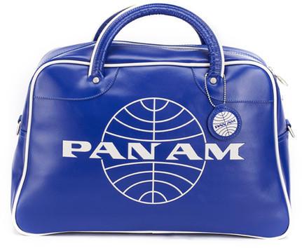 Pan Am Orion Overnight Bag Blue