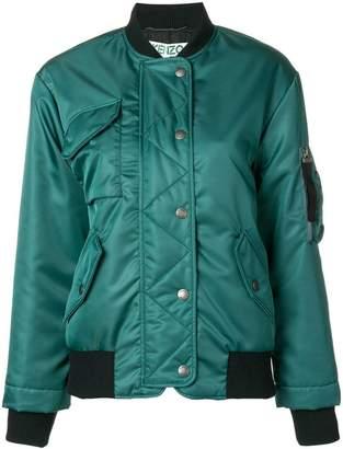Kenzo boxy-fit bomber jacket