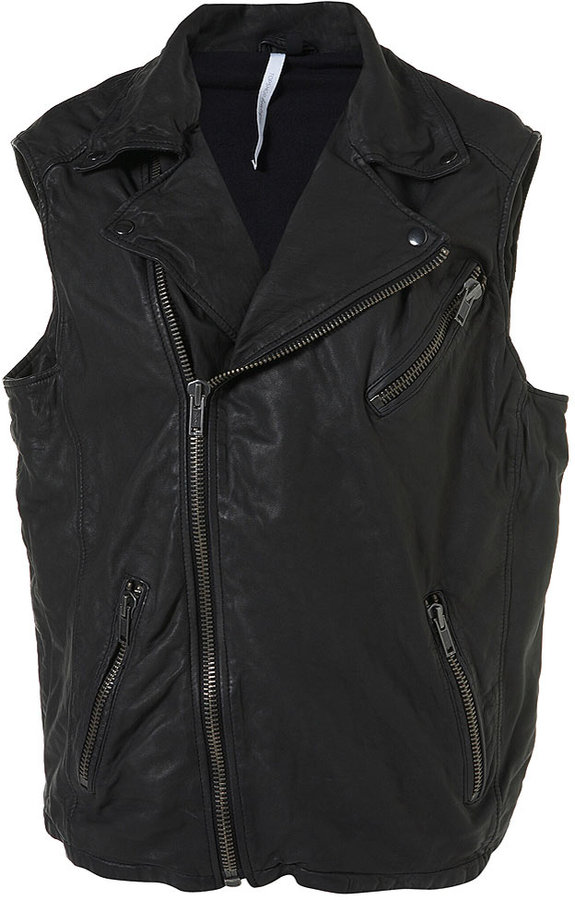 Leather Biker By Boutique