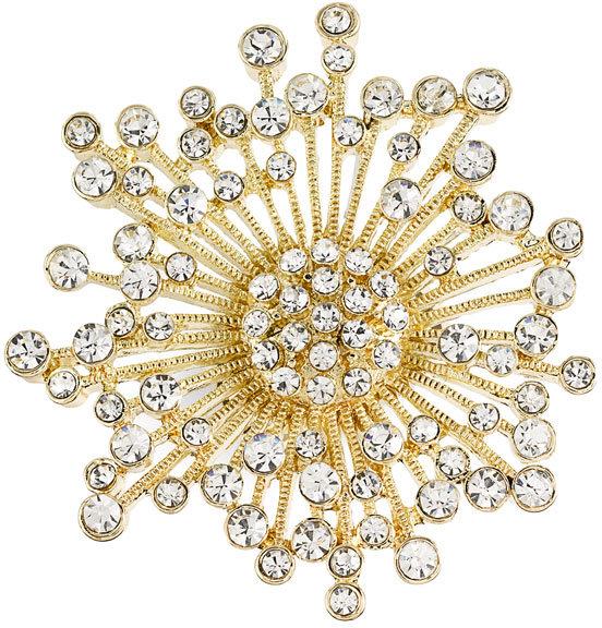 Spring Street Design Group Oversized Snowflake Ring