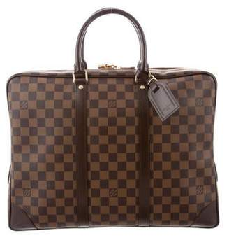 Louis Vuitton Damier Ebene Porte-Documents Voyage GM