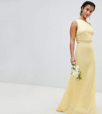 TFNC Petite Petite Embellished Maxi Bridesmaid Dress