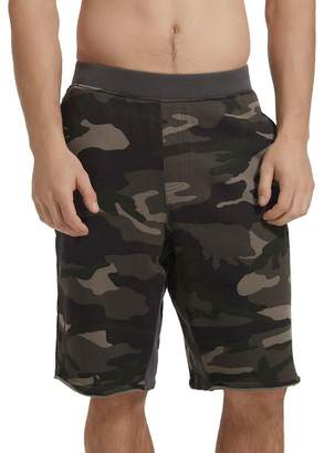 ATM Anthony Thomas Melillo Camouflage-Print French Terry Sweat Shorts
