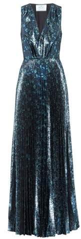 Prada Sleeveless brocade dress
