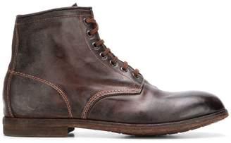 Premiata lace up ankle boots