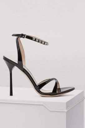 Miu Miu Crystals sandals