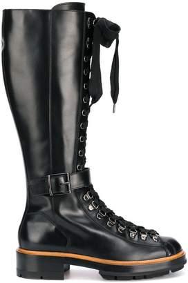 Santoni mid-calf boots