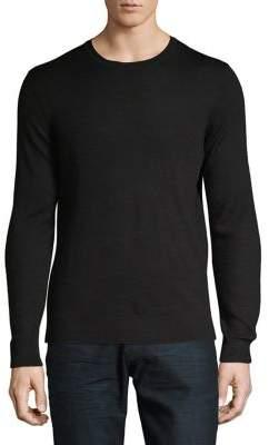 Black & Brown Black Brown Crewneck Merino Wool Sweater