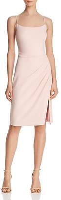 Laundry by Shelli Segal Draped Crepe Dress - 100% Exclusive