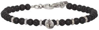 Isabel Marant Black Beaded Bracelet