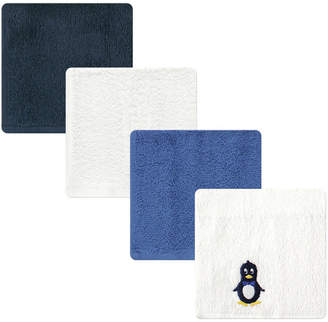 Baby Vision Luvable Friends Washcloths, 4-Pack, One Size