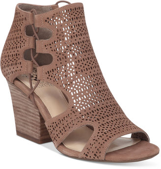Vince Camuto Corbina Block-Heel Dress Sandals $129 thestylecure.com