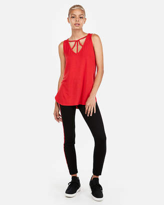 Express One Eleven Strappy V-Neck London Tank