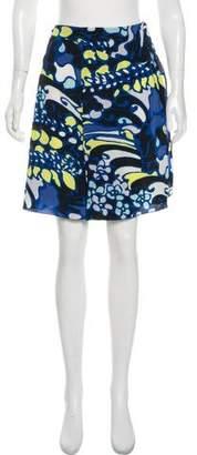Marni Silk Printed Skirt