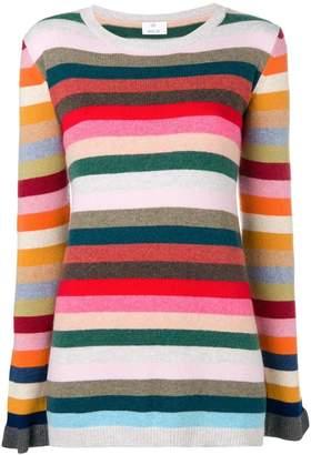 Allude striped sweater