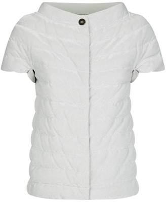 Herno Lurex Short Sleeve Padded Jacket