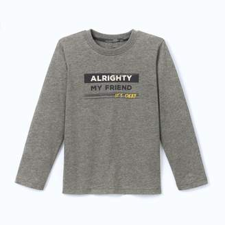 La Redoute COLLECTIONS Long-Sleeved Printed T-Shirt, 3-12 Years