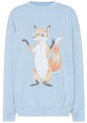 Acne Studios Fox print cotton sweatshirt