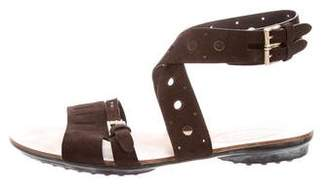 Tod's Ankle Strap Buckle Sandals