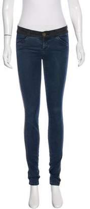 Current/Elliott Colorblock Skinny Jeans