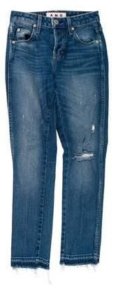 Amo Mid-Rise Skinny Jeans