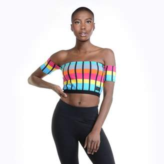 Reflex Kelly Rainbow Crop T-Shirt - Women's