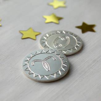 Nicola Crawford Couples Star Sign Keepsake Coin