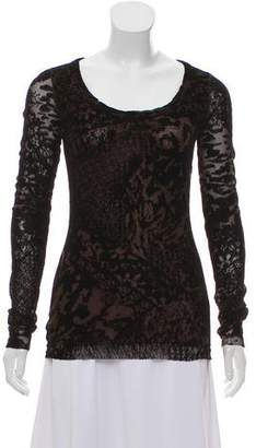 Fuzzi Velvet Long Sleeve Top w/ Tags