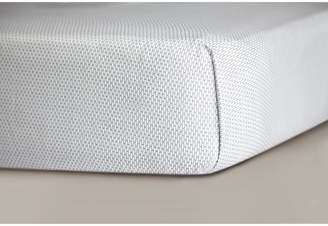OILO Cotton Sateen Fitted Crib Sheet