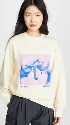 Edition10 Elephant Graphic Sweatshirt