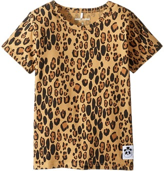 mini rodini - Basic Leopard Short Sleeve Tee Girl's T Shirt $37 thestylecure.com