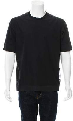 Damir Doma Distressed Crew Neck T-Shirt