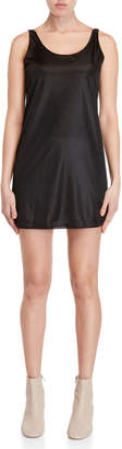 Ter Et Bantine Black Silky Mini Dress