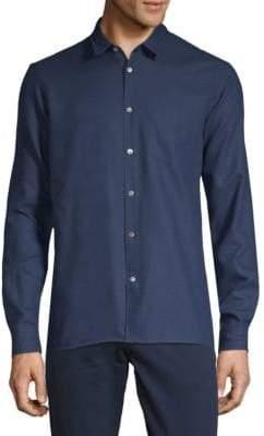 J. Lindeberg Casual Cotton Button-Down Shirt