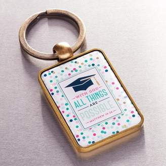 Christian Art Gifts Keyring in Tin All Things Are (Other)