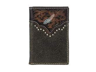 ac72b95c78 Mens Designer Leather Wallet Trifold - ShopStyle