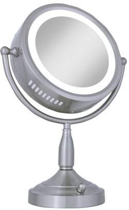 Zadro 8X-1X Lighted Vanity Makeup Mirror