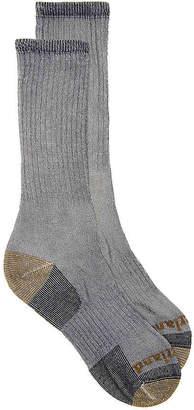 Timberland Rib Heathered Merino Boot Socks - 2 Pack - Men's