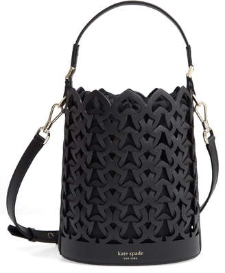 Kate Spade Small Dorie Leather Bucket Bag