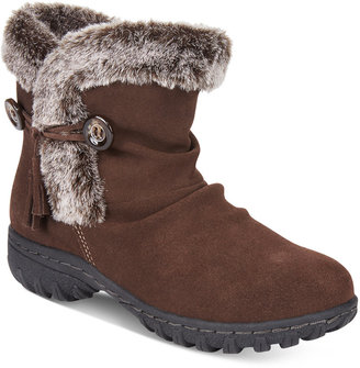 Khombu Women's Isabella Cold-Weather Booties $99 thestylecure.com