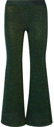 Missoni Lurex Flared Pants - Green