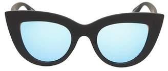 Quay Kitti 50mm Cat Eye Sunglasses