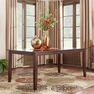 "Weston Home Abram 72"" Dining Table, Parson Table Leg"