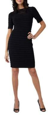 Adrianna Papell Bandage Stretch Dress
