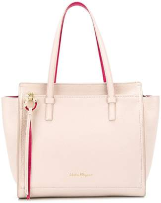 Collections For Sale classic open-top tote - Pink & Purple Salvatore Ferragamo Explore Sale Online Cheap Sale 2018 Newest Clearance Shopping Online Free Shipping Release Dates B7NugMw
