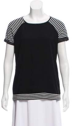 Sanctuary Striped Short Sleeve Top