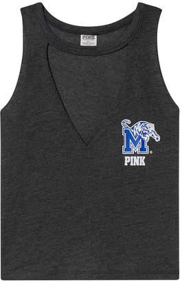 PINK University of Memphis Choker Neck Muscle Tank