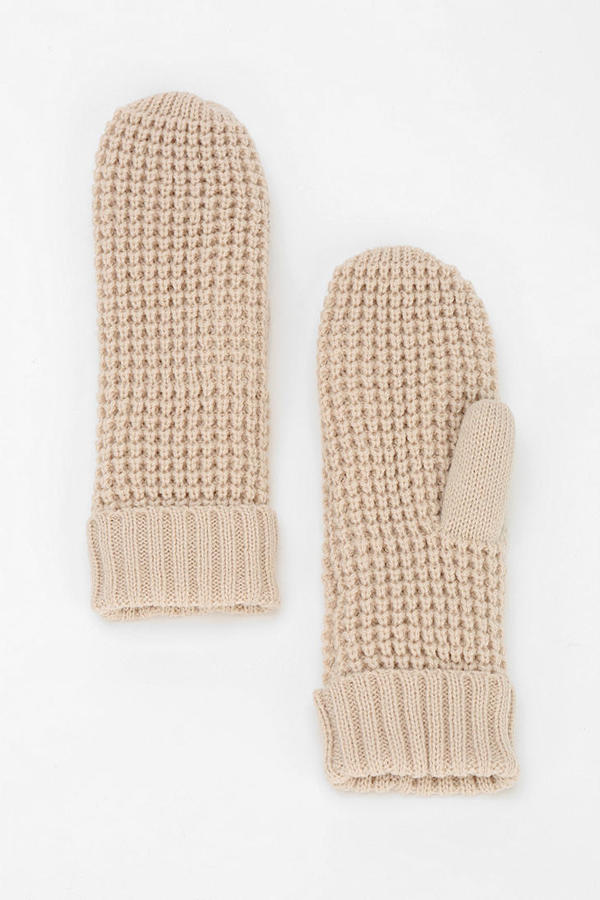 Urban Outfitters Bickley + Mitchell Waffle Mitten