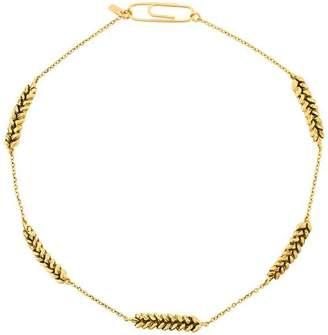 wheat-shape necklace